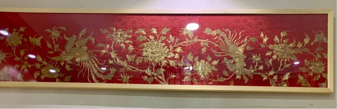 17-19TH CENTURY, A STORY DESIGN EMBROIDERY, QING
