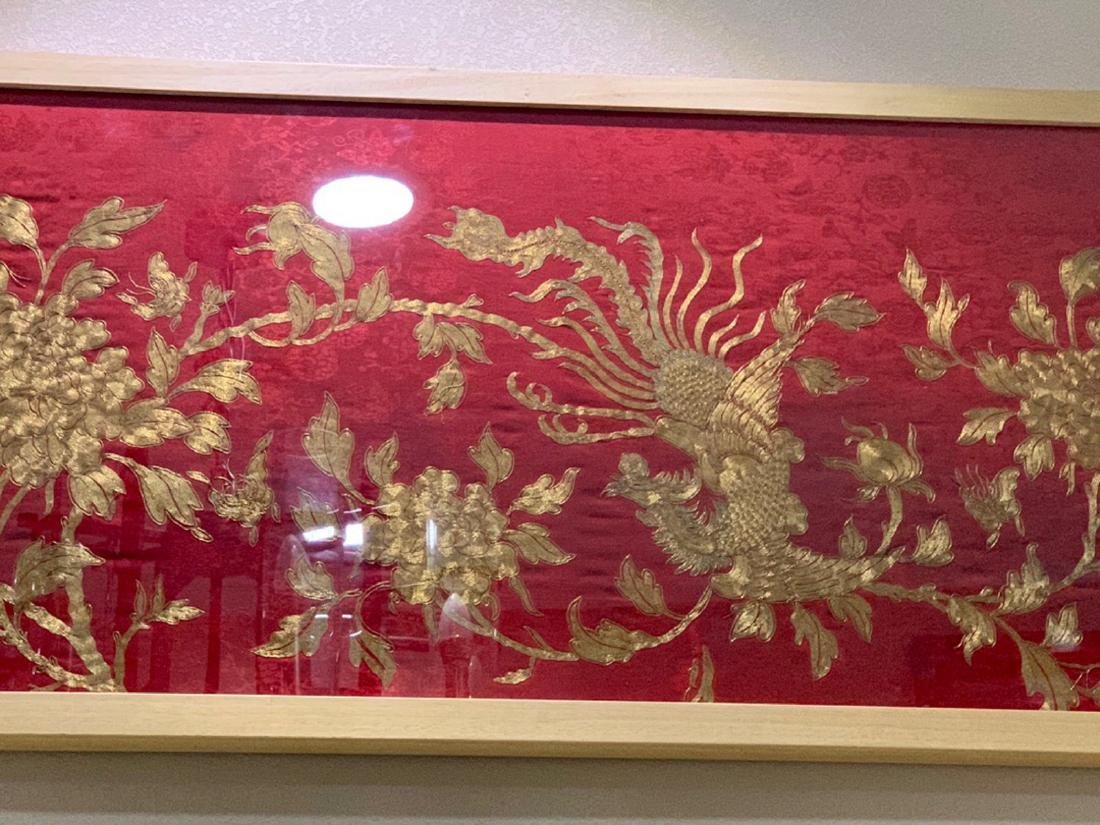 17-19TH CENTURY, A STORY DESIGN EMBROIDERY, QING - 4
