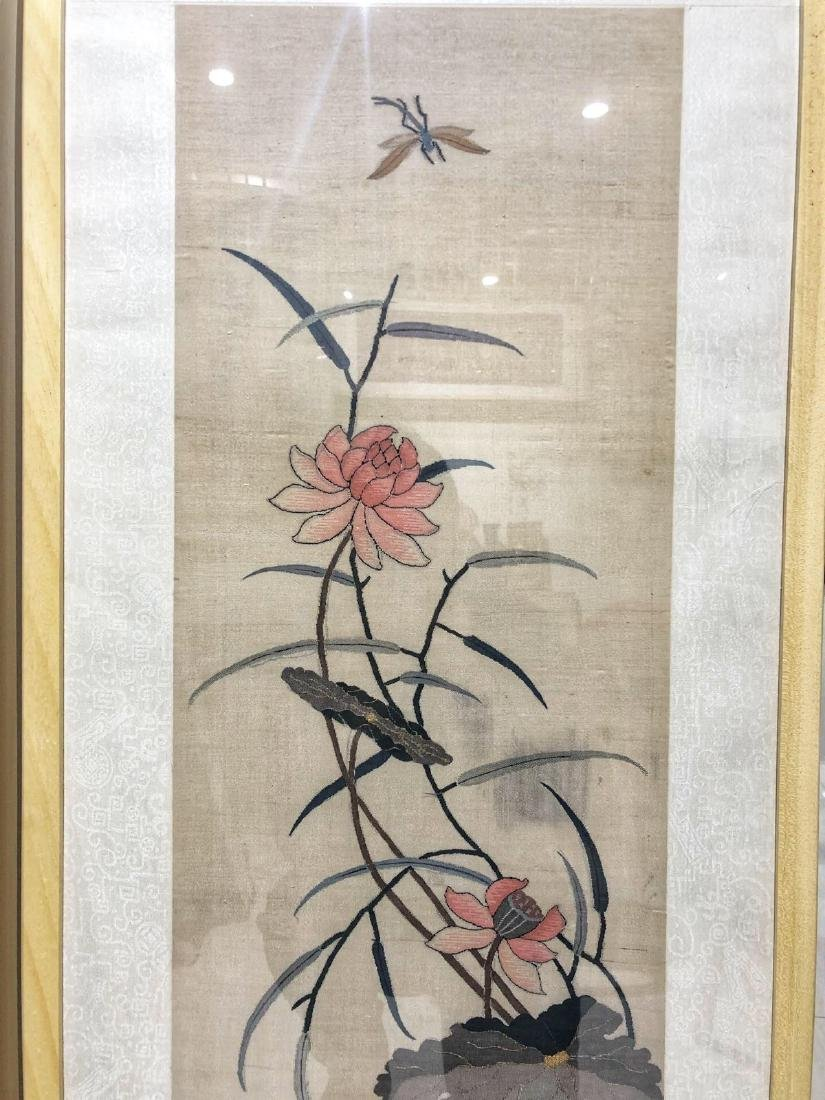 17-19TH CENTURY, A STORY DESIGN EMBROIDEY, QING DYNASTY - 2