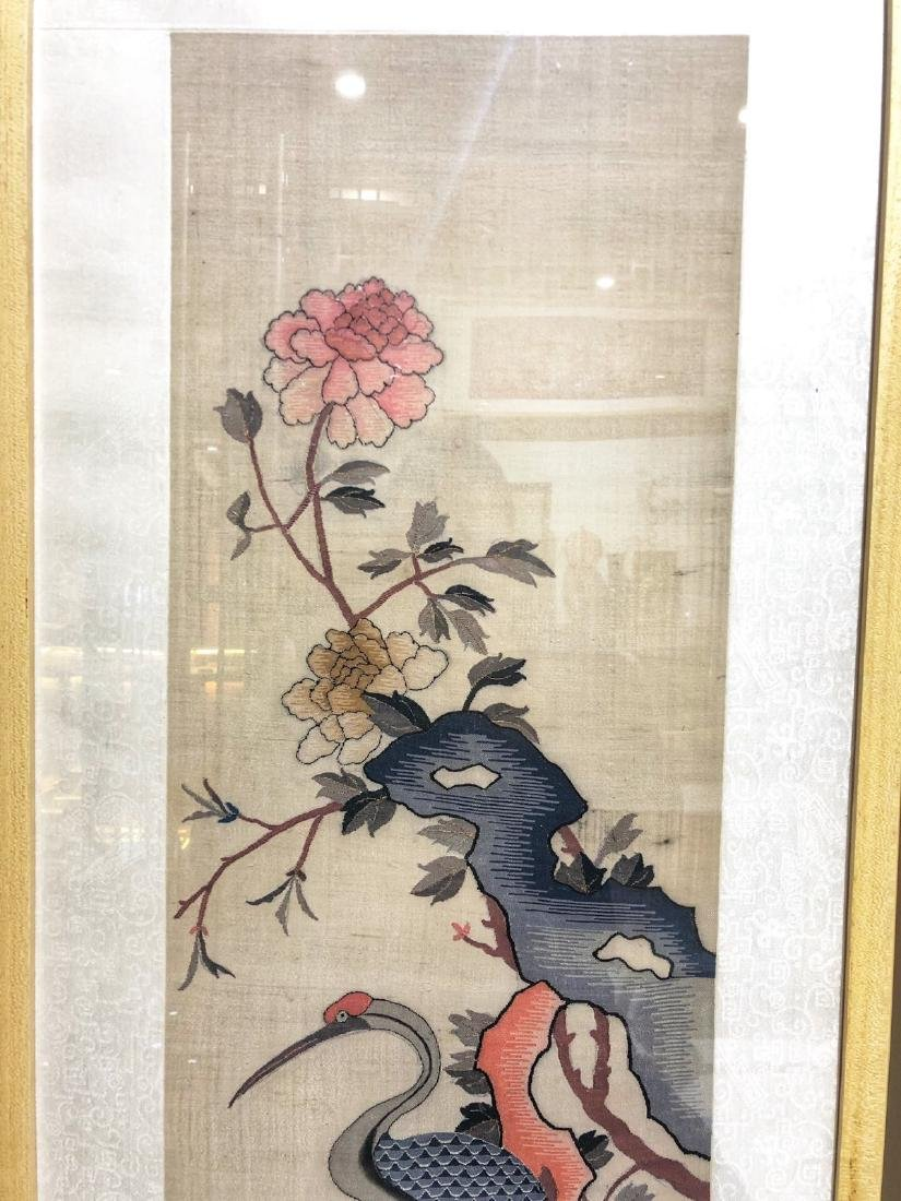 17-19TH CENTURY, A STORY DESIGN EMBROIDEY, QING DYNASTY - 3