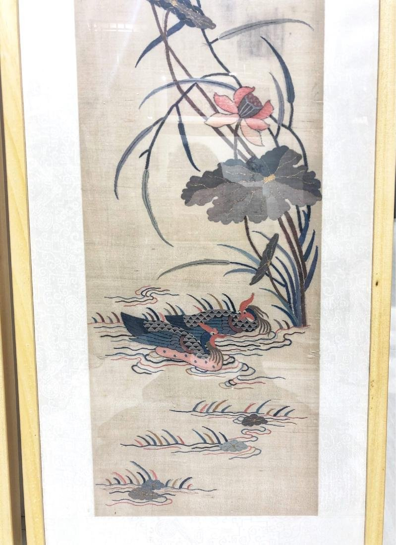 17-19TH CENTURY, A STORY DESIGN EMBROIDEY, QING DYNASTY - 4