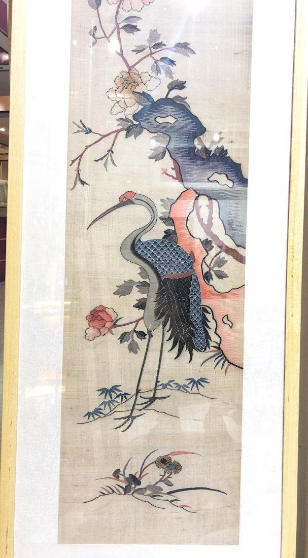 17-19TH CENTURY, A STORY DESIGN EMBROIDEY, QING DYNASTY - 5