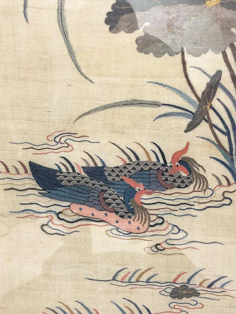 17-19TH CENTURY, A STORY DESIGN EMBROIDEY, QING DYNASTY - 7