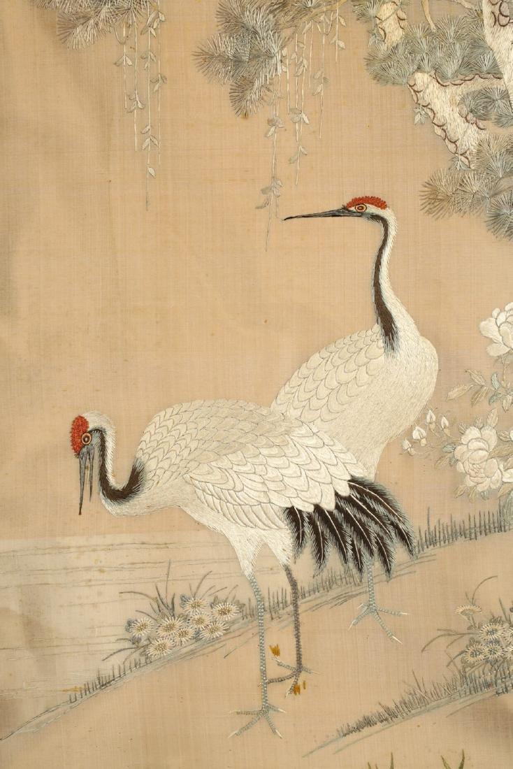 17-19TH CENTURY, A BIRD EMBROIDERY, QING DYNASTY - 8