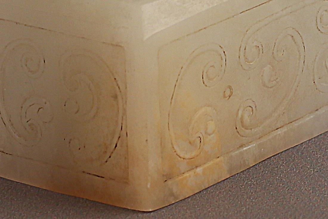 206 BC-220 AD, A PHOENIX WHITE JADE SEAL, HAN DYANSTY - 4
