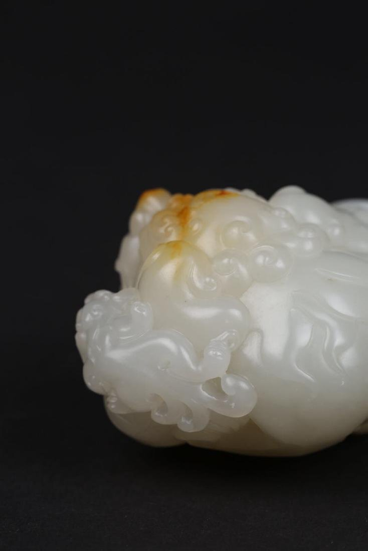 A BEAST DESIGN HETIAN JADE ORNAMENT - 9