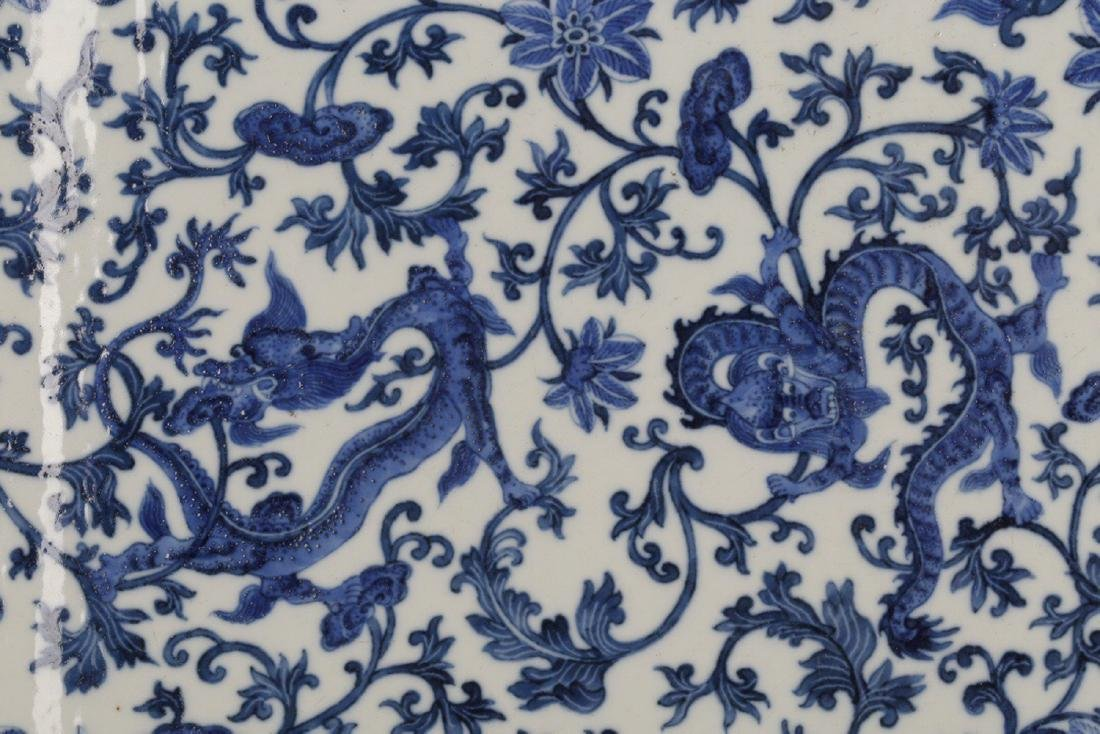 17-19TH CENTURY, A PORCELAIN HANGING BOARD, QING - 2