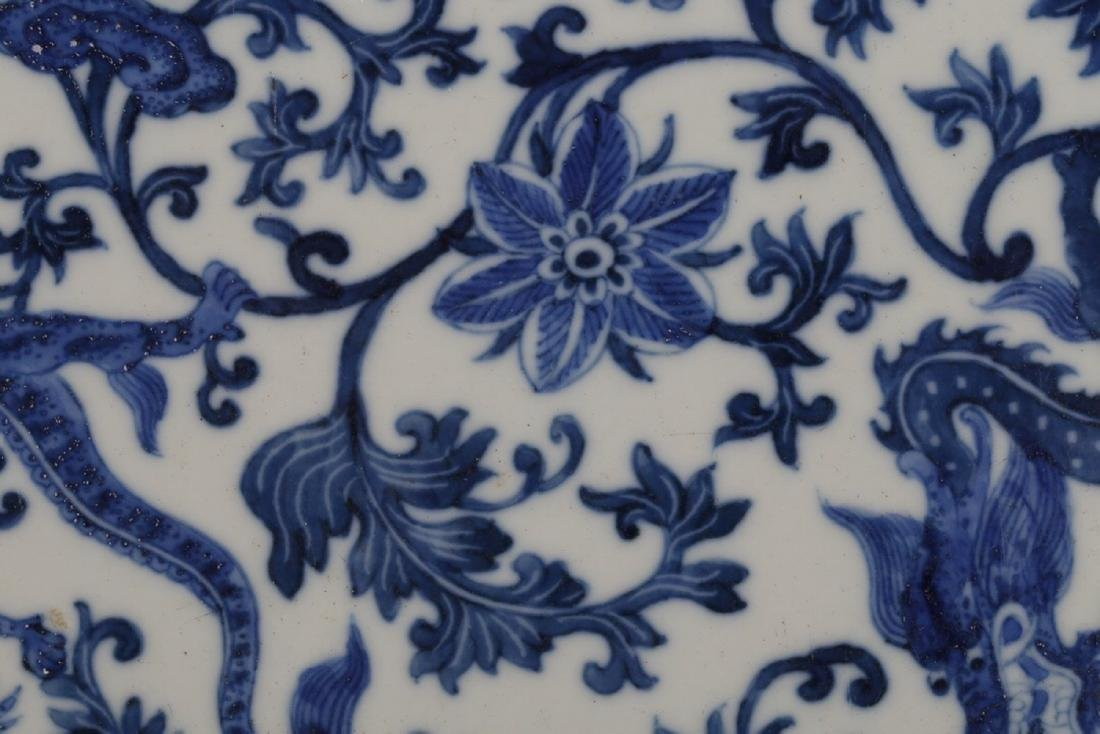 17-19TH CENTURY, A PORCELAIN HANGING BOARD, QING - 6