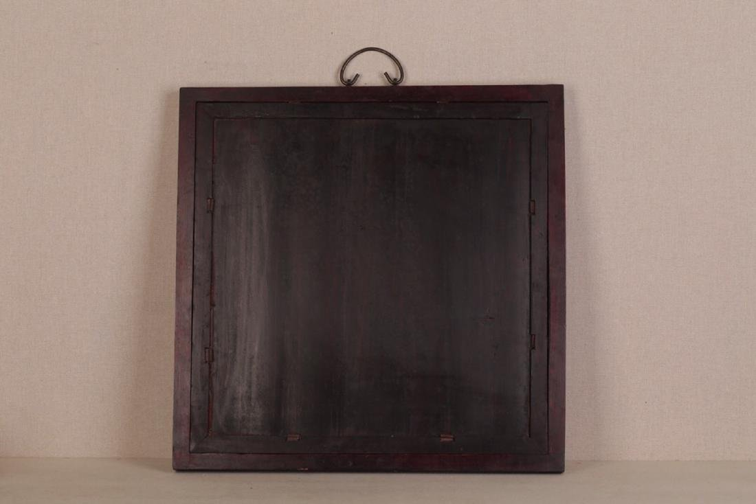 17-19TH CENTURY, A PORCELAIN HANGING BOARD, QING - 8