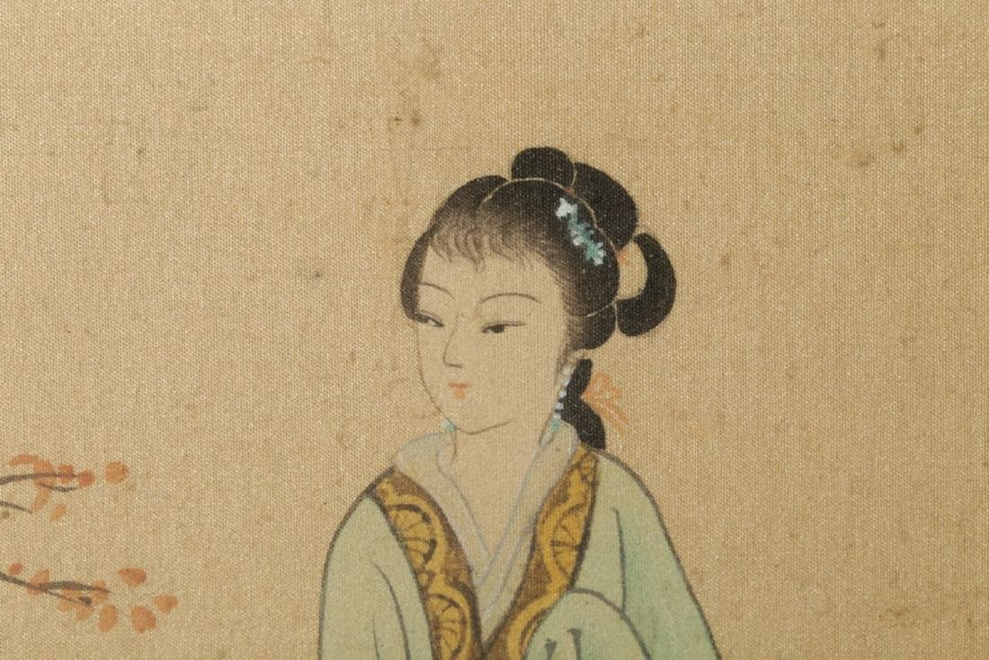 17-19TH CENTURY, A PAINTING, QING DYNASTY - 4