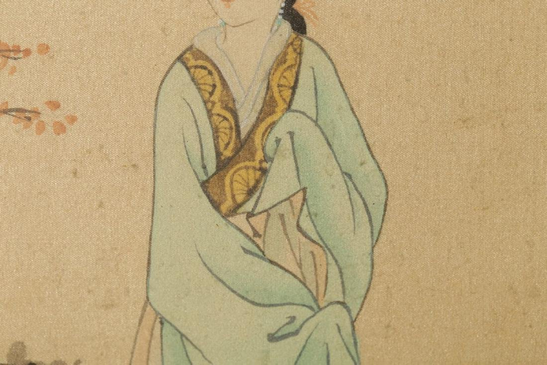 17-19TH CENTURY, A PAINTING, QING DYNASTY - 5