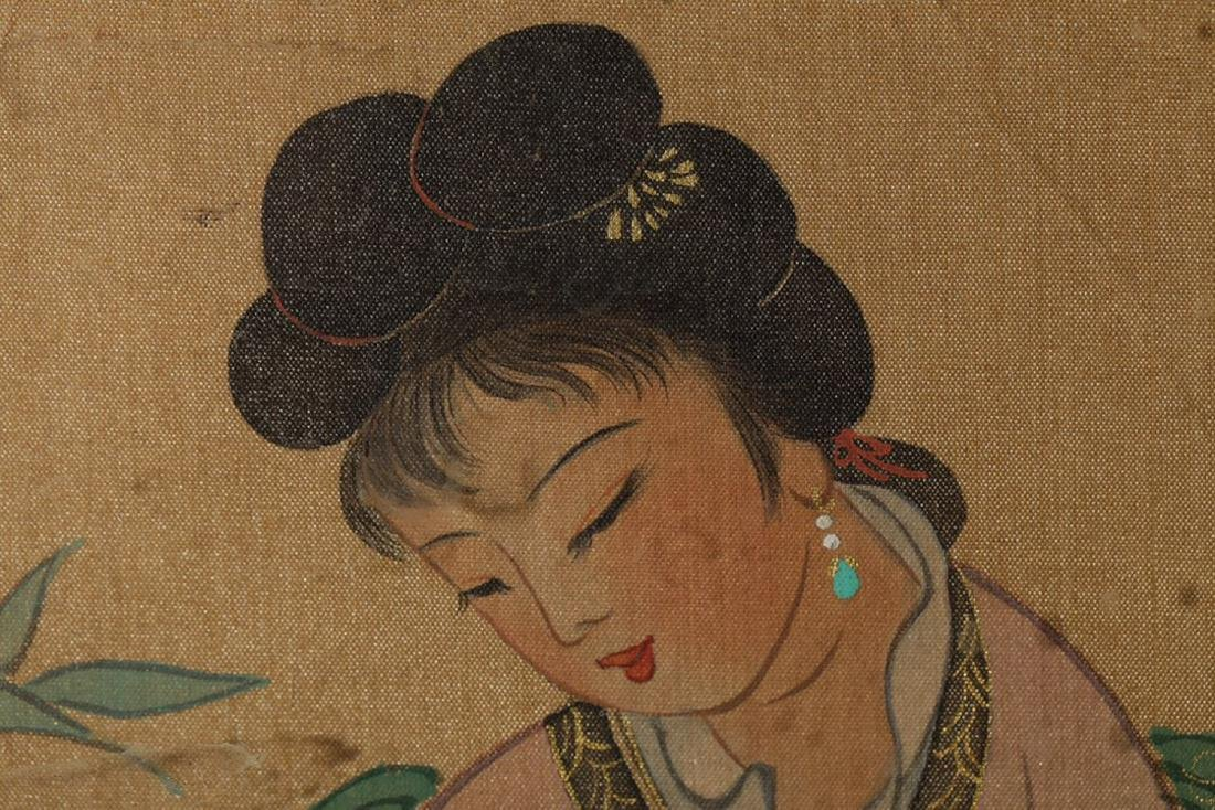 17-19TH CENTURY, A PAINTING, QING DYNASTY - 8