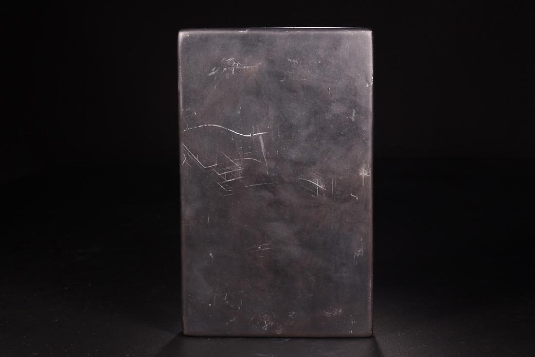 A DRAGON PATTERN INK SLAB - 7