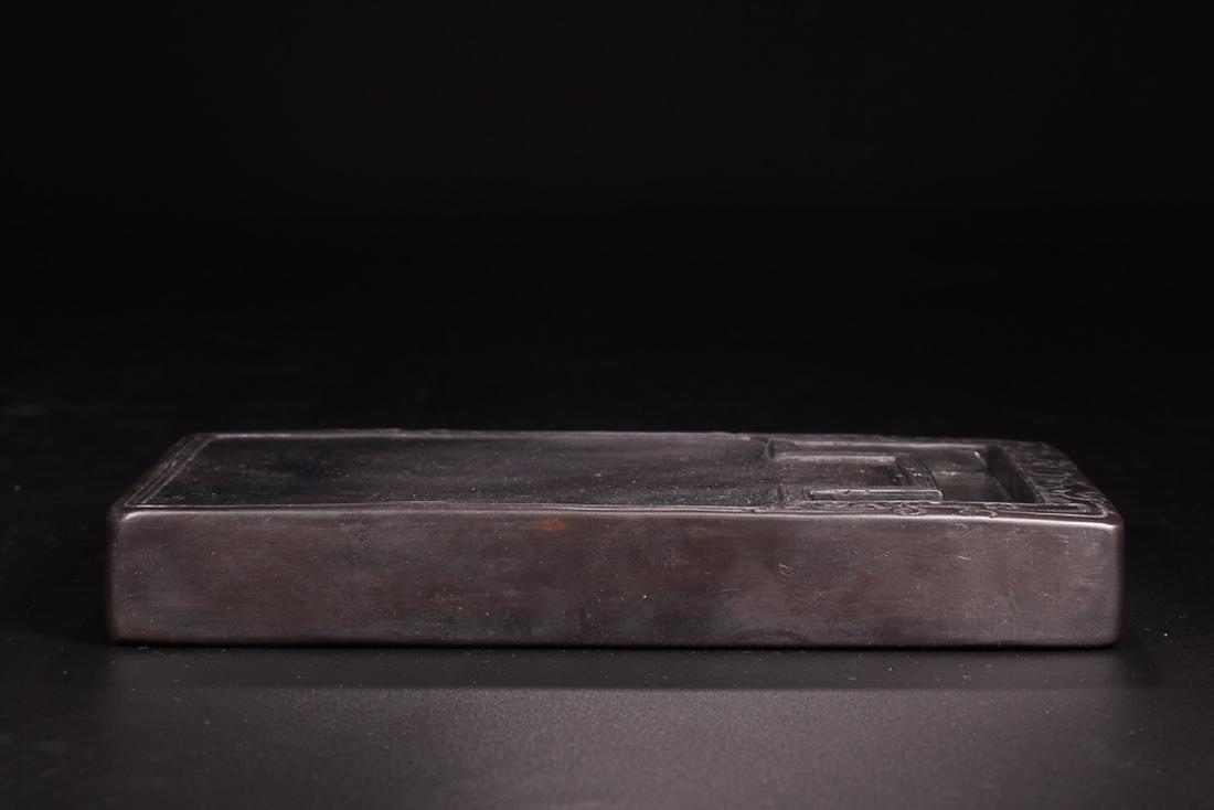 A DRAGON PATTERN INK SLAB - 8