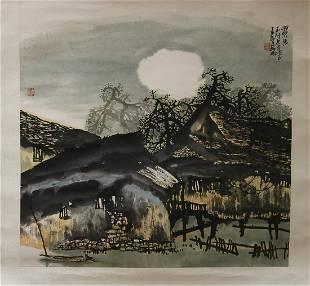 A LANDSCAPE PAINTING OF CHENG ZHEN GUO