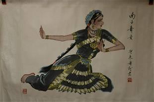 AN A LAO SOUTH ASIAN DANCER