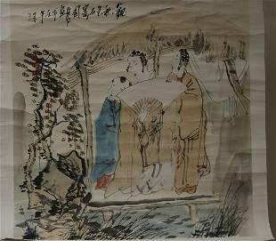 A CHARACTER STORYPAINTING OF TANG YONGLI
