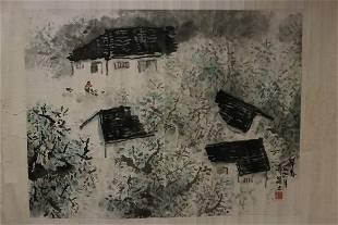 A ZAO CHUNPAINTING OF FANG JIZHONG