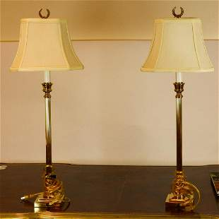 A PAIR OF LAMP