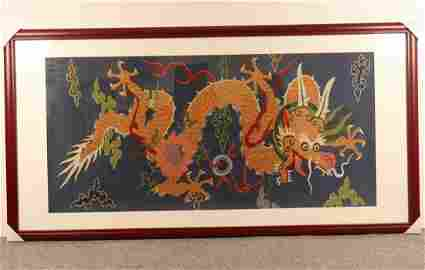 KESI EMBROIDERY WITH DRAGON PATTERN