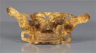 GOLD LEAF CAST FACE MASK