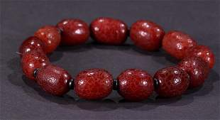 BEESWAX CARVED STRING BRACELET