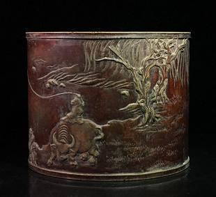 INK SLAB CARVED WITH STORY&POETRY