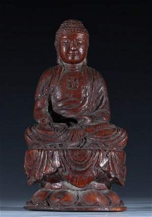 BAMBOO VAIROCANA BUDDHA STATUE