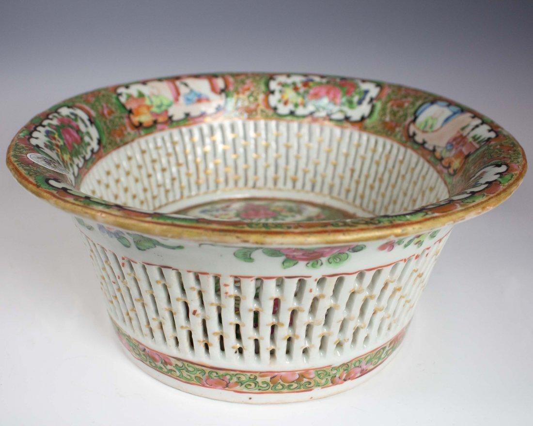 Enamel Oval Fruit Basket