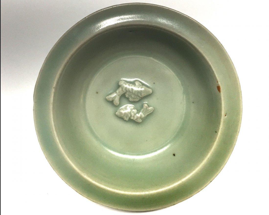 Longquan Celadon Twin-Fish Dish