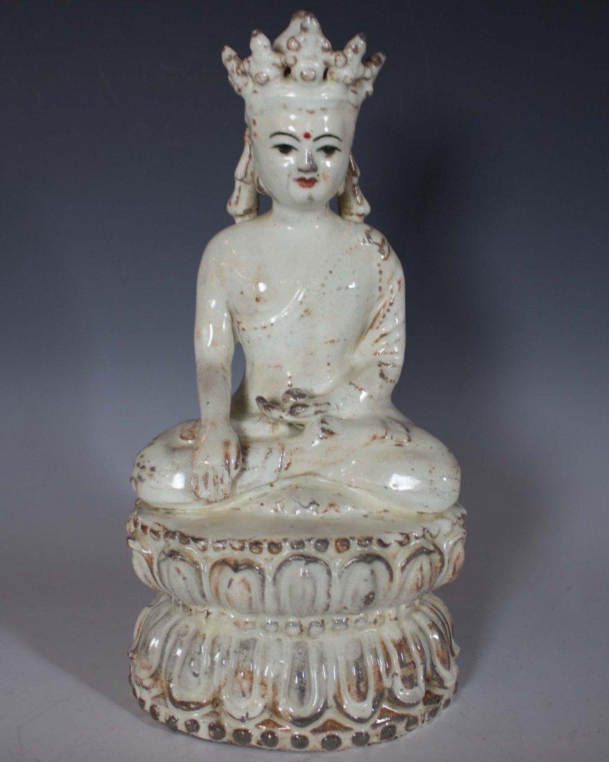 Ceramic Figure of Buddha