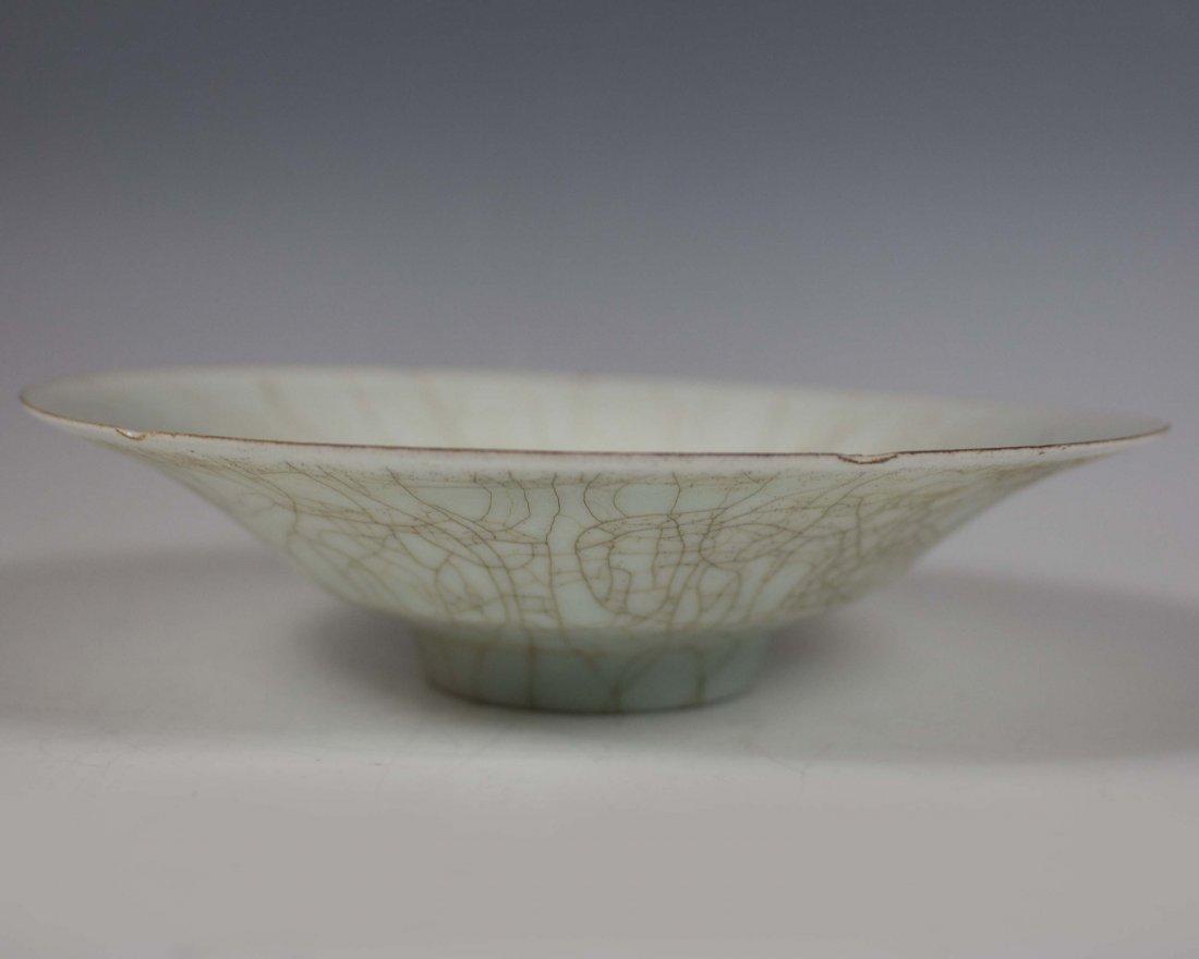 Qingbai Export Hexagon Carved Bowl