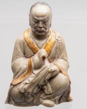 Soapstone Figure Of Luohan