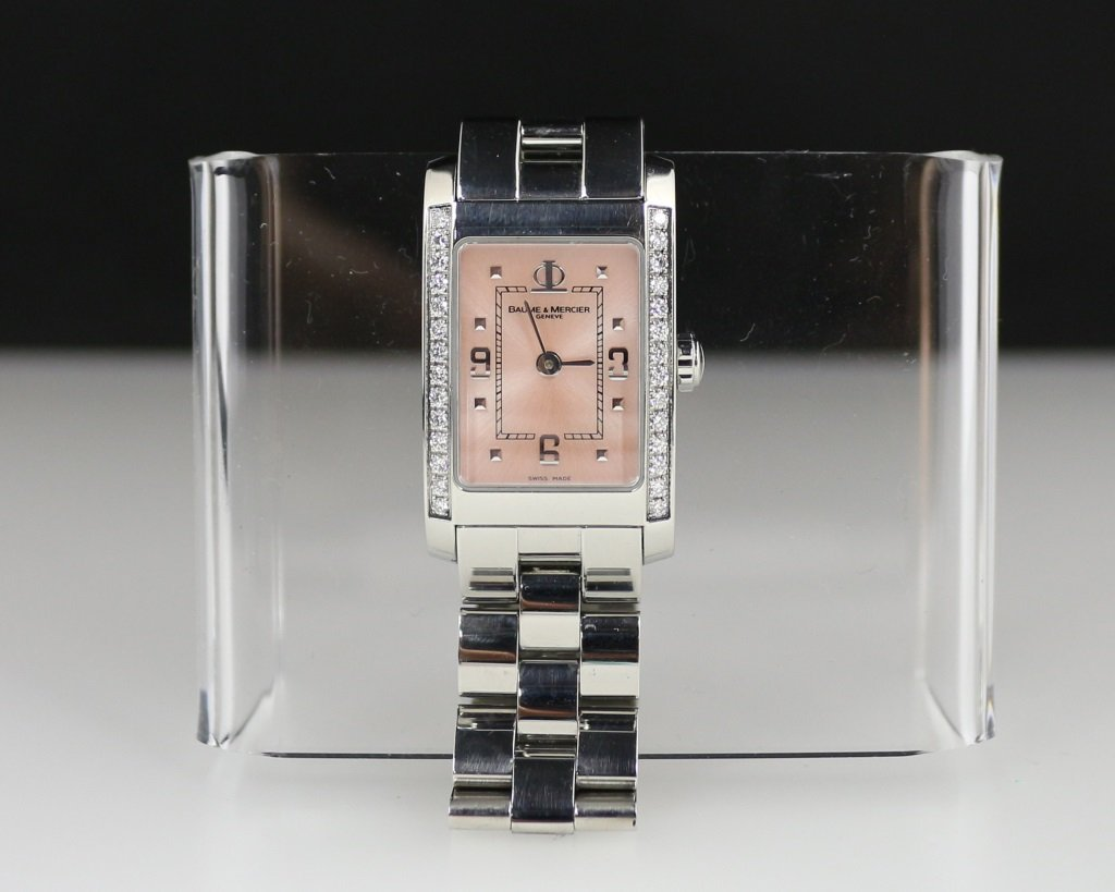 BAUME&MERCIER DIAMOND WATCH - 6
