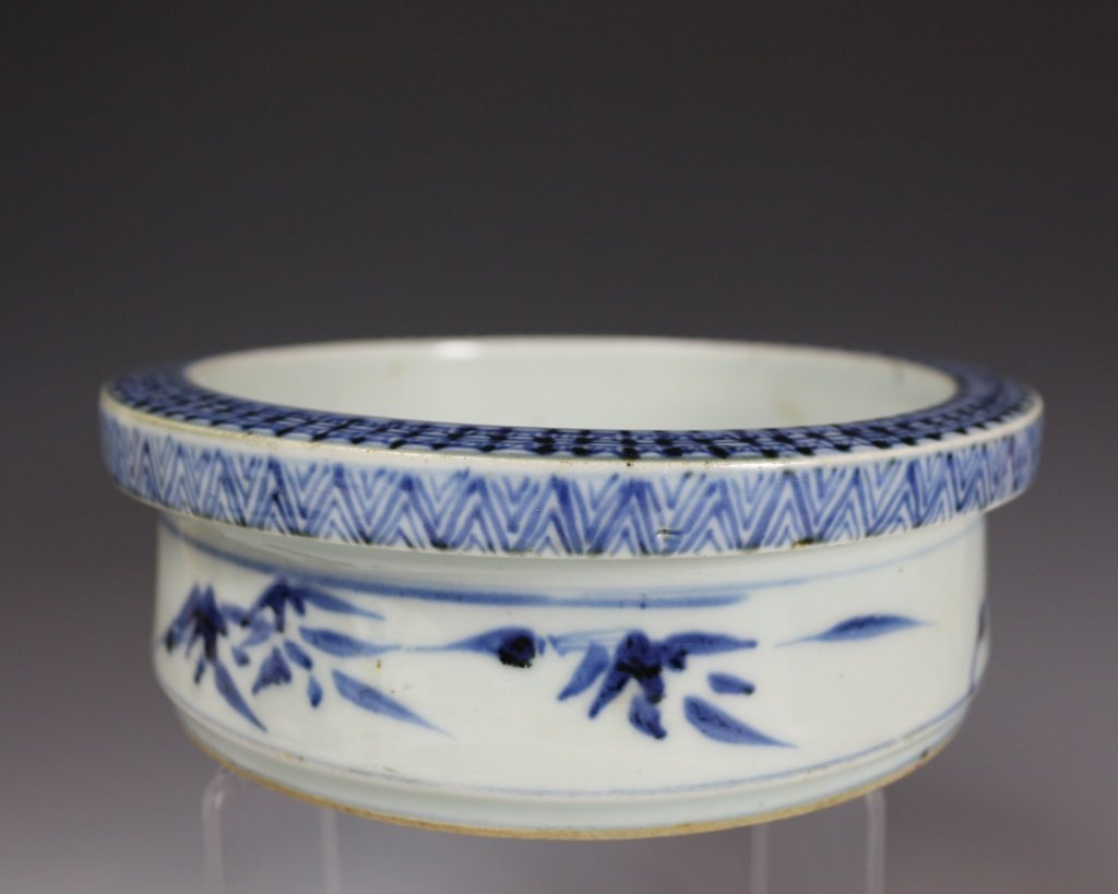 BLUE&WHITE DRAGON DISH - 2