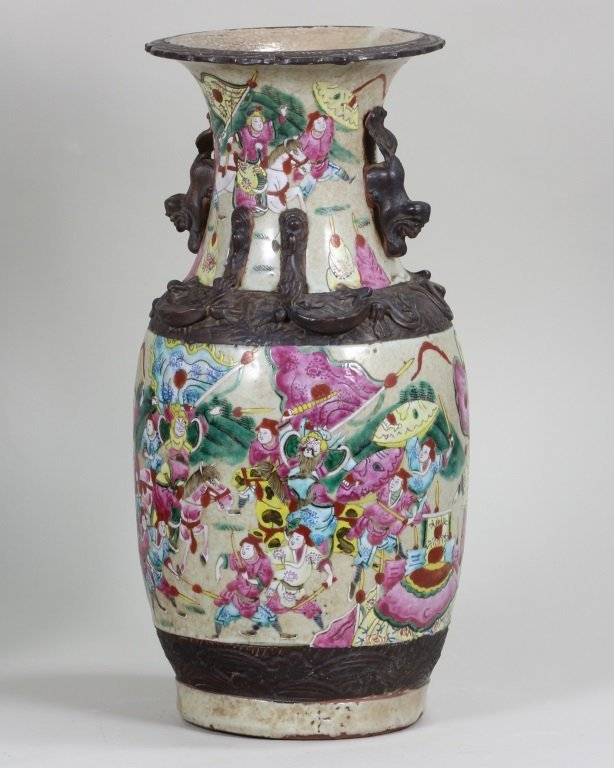 Pair of Famille-Rose Vase - 2