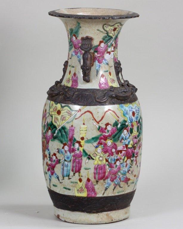 Pair of Famille-Rose Vase - 3