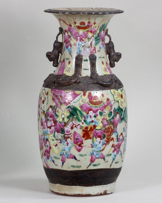 Pair of Famille-Rose Vase - 4