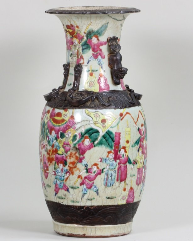 Pair of Famille-Rose Vase - 8