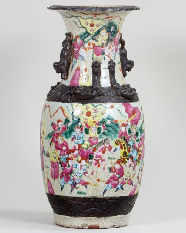 Pair of Famille-Rose Vase - 9