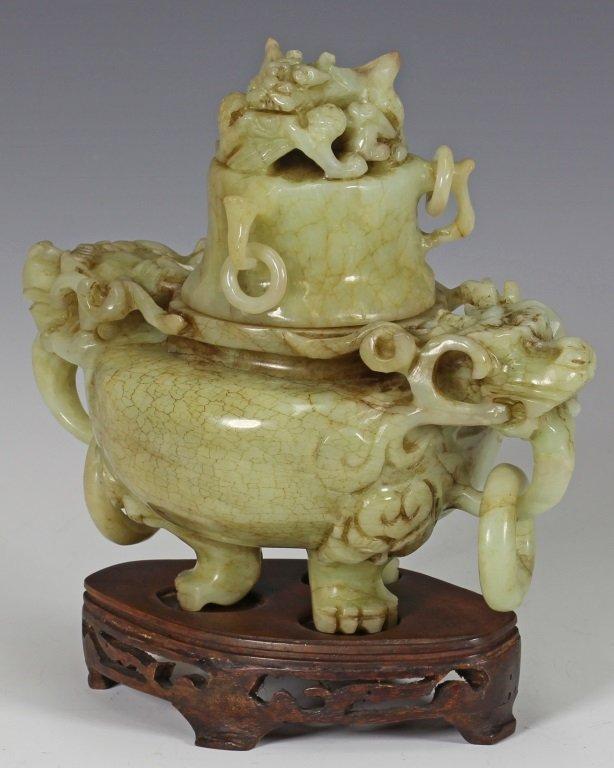 Xiu Jade Incense Burner