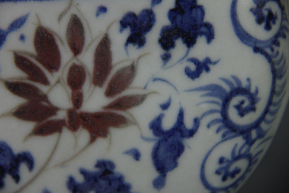 YUAN BLUE&WHITE PHOENIX HEAD UWER - 7
