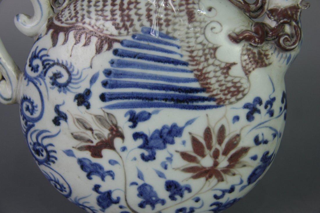 YUAN BLUE&WHITE PHOENIX HEAD UWER - 8