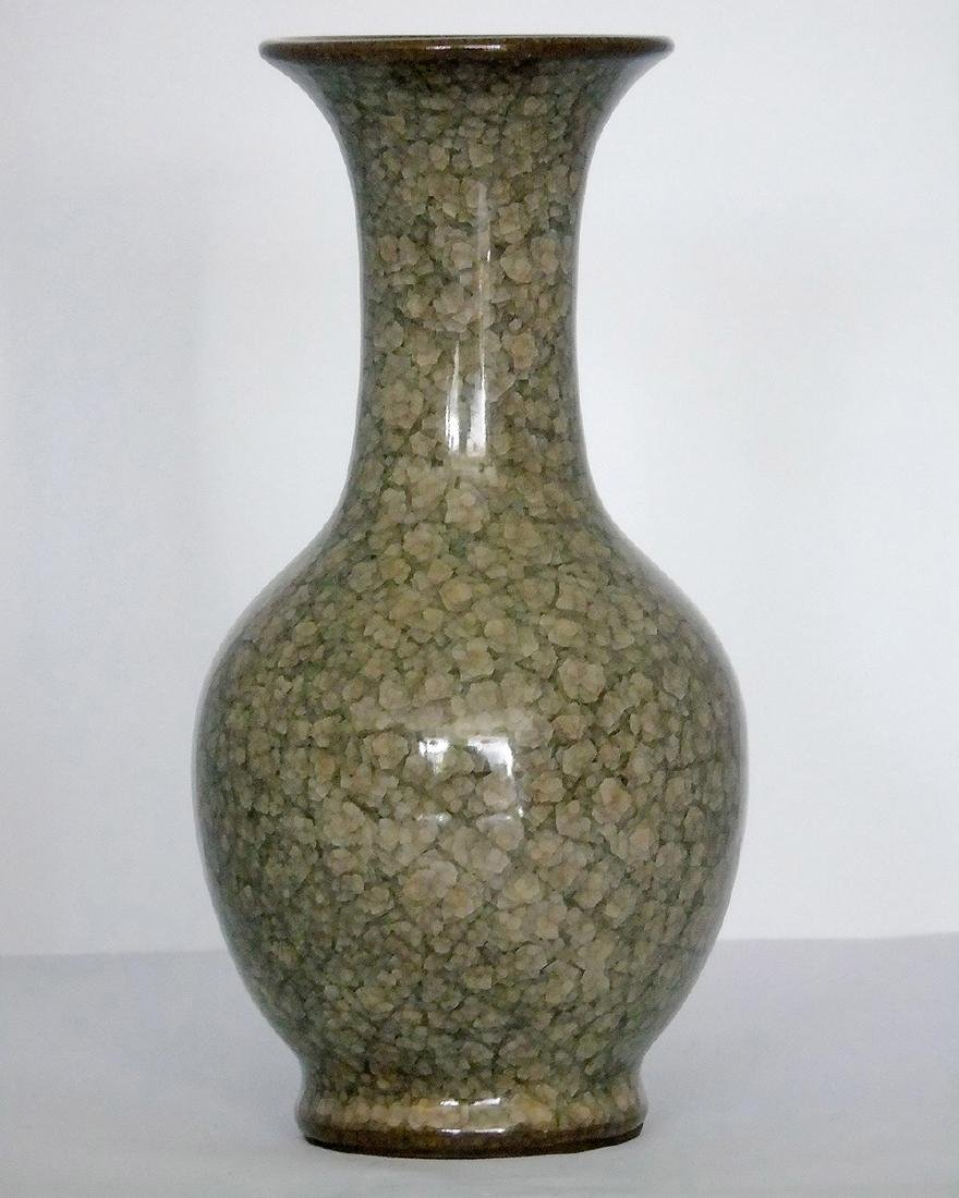 PEAR-SHAPED VASE WITH FAINT CRACKLES