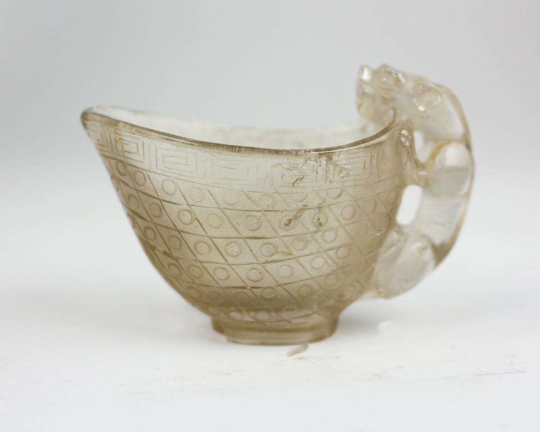 CRYSTAL DRAGON PATTERN CUP - 2