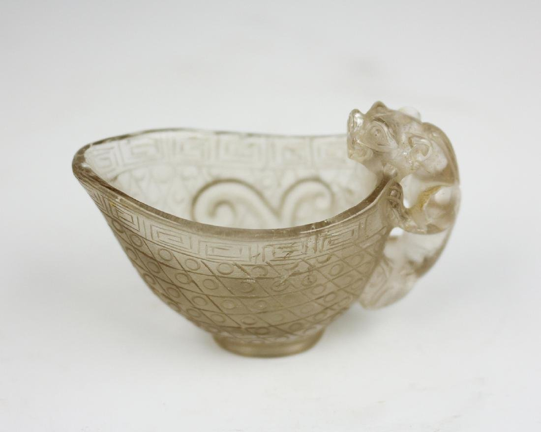 CRYSTAL DRAGON PATTERN CUP - 3