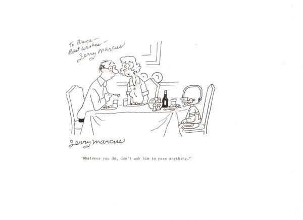 5: Marcus Ladies Home Journal original comic art
