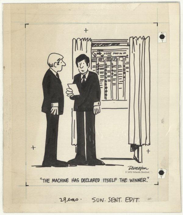 12: Dunagin Dunagin's People original comic art 1972