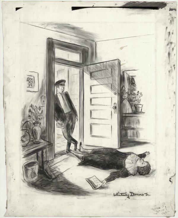 22: Darrow Life Magazine 1960 original comic art