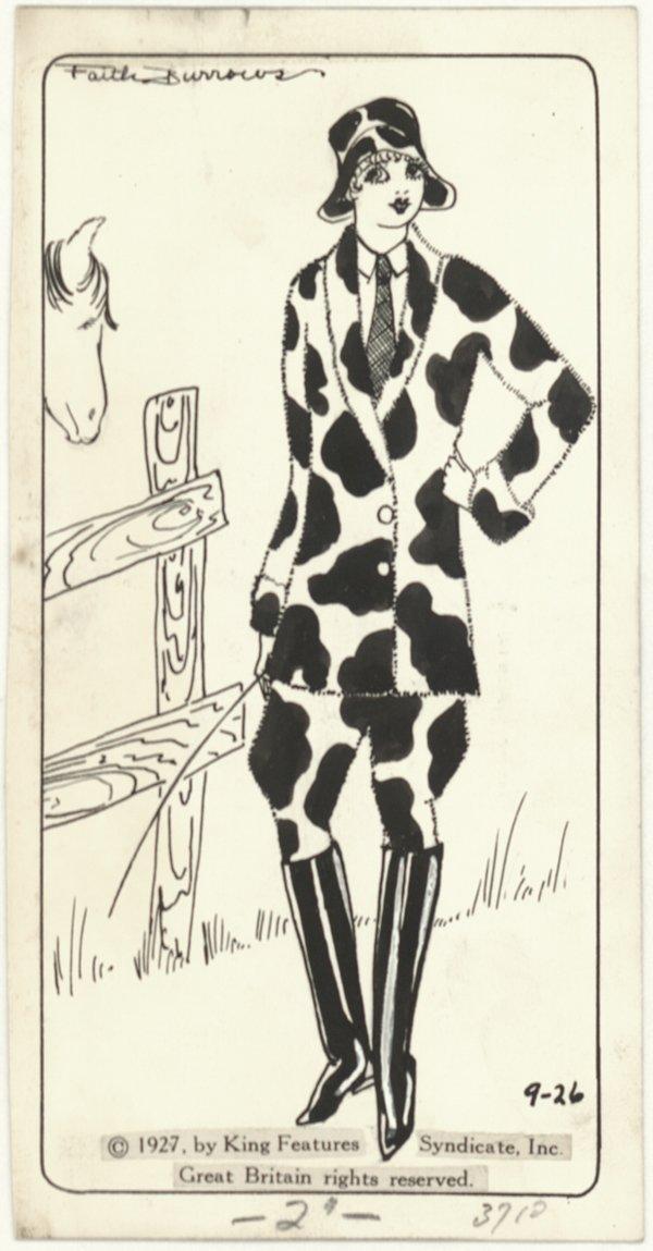 24: Faith Burrows daily 9/26/27 original comic art